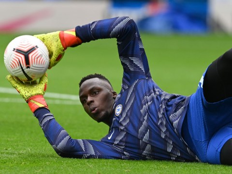Edouard Mendy sends blunt message to Petr Cech over chances of playing for Chelsea again