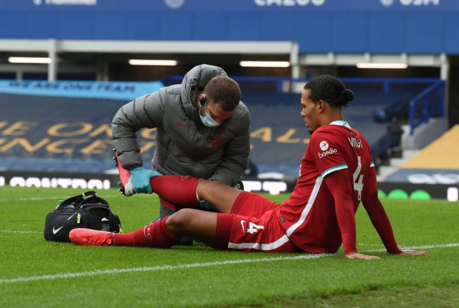 Liverpool face an anxious wait to discover the extent of Virgil van Dijk's ankle injury