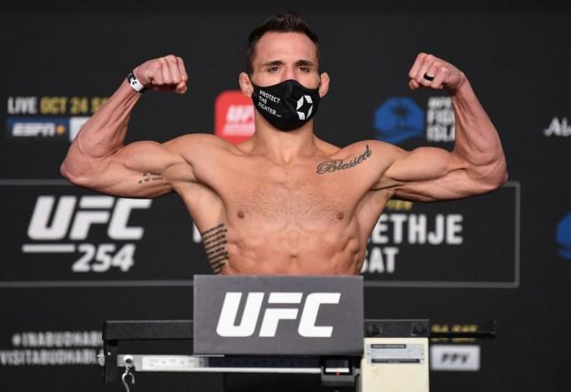 UFC 254: Khabib v Gaethje Weigh-in