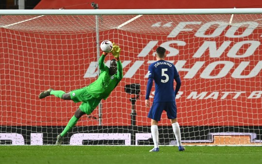 Edouard Mendy a fait un début impressionnant dans sa carrière à Chelsea