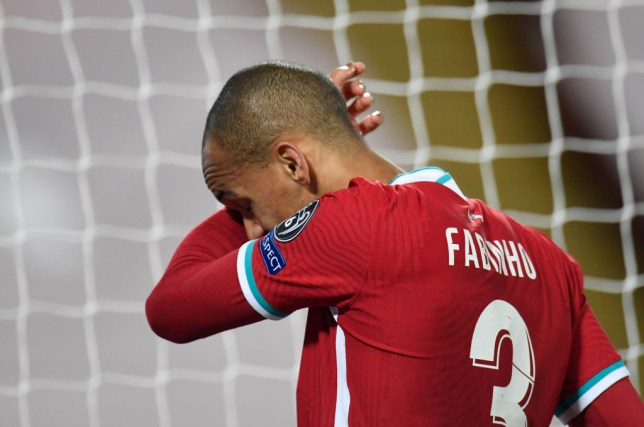 Fabinho was the latest to suffer an injury in defence for the Reds