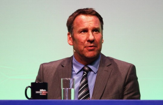 Former Arsenal and England star Paul Merson