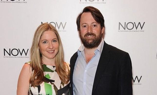 David Mitchell and his wife Victoria Coren