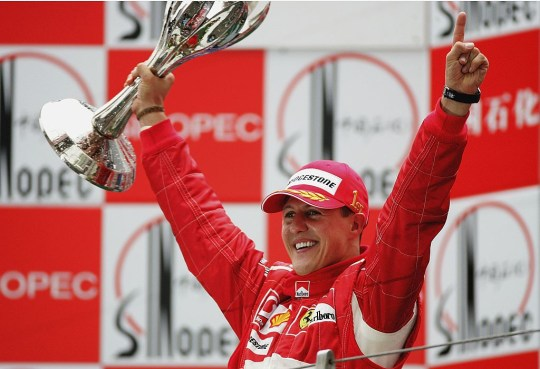 Michael Schumacher recorded 91 wins during his F1 career