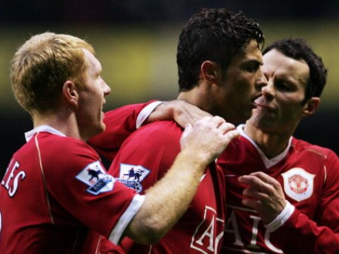 Ryan Giggs picks his dream Manchester United five-a-side team