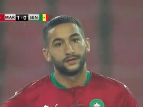 Chelsea midfielder Hakim Ziyech impresses in cameo appearance for Morocco