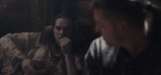 Vikings Hvitserk and Ivar The Boneless
