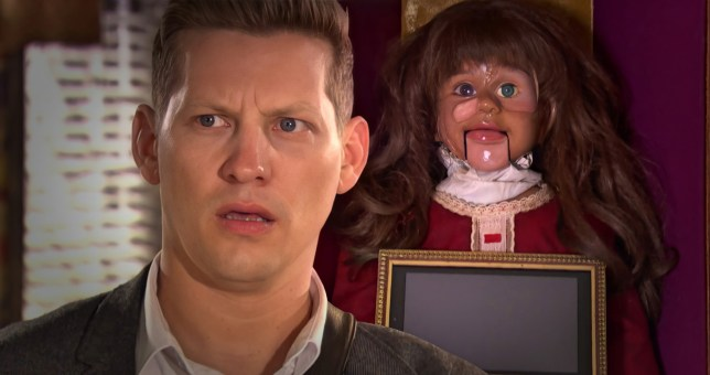 John Paul and The Doll in Hollyoaks