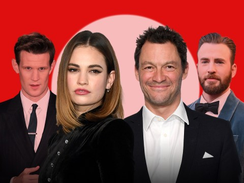Lily James's relationship history as she's pictured cuddling married Dominic West