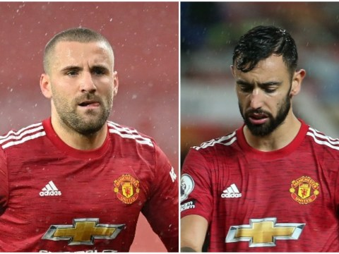 Luke Shaw slammed for ignoring Bruno Fernandes request during Man Utd vs Chelsea draw
