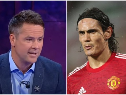 Michael Owen backs Edinson Cavani to thrive at Manchester United after his debut against Chelsea