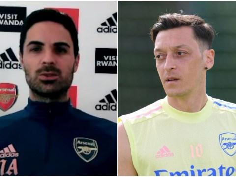 Mikel Arteta responds to Arsene Wenger claiming Mesut Ozil is 'wasted' at Arsenal