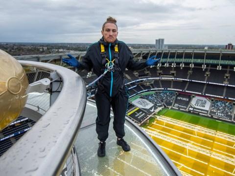WWE's daredevil NXT UK superstars scale Tottenham Hotspur Skywalk