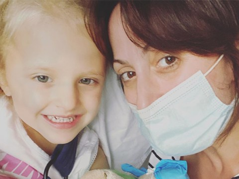 EastEnders star Natalie Cassidy's daughter taken to hospital as she admits she's been 'crying all day'
