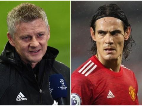 Ole Gunnar Solskjaer wants Erling Haaland as Edinson Cavani's long-term replacement at Manchester United