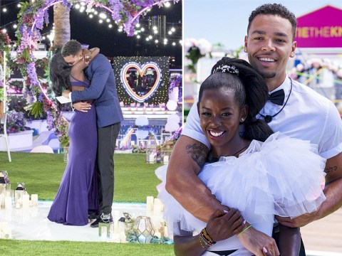 Love Island USA winners Justine and Caleb are 'super pumped' about their history-making victory