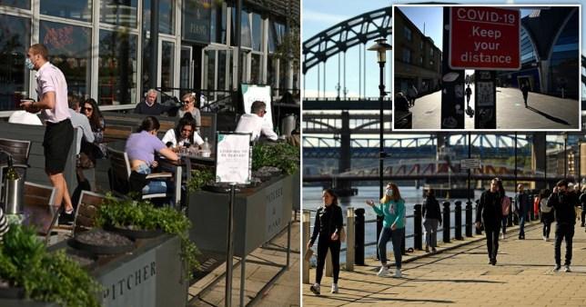 Newcastle becomes England's new coronavirus hotspot