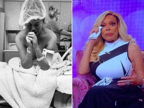 Wendy Williams breaks down in tears as she opens up on miscarriages and supports Chrissy Teigen and John Legend