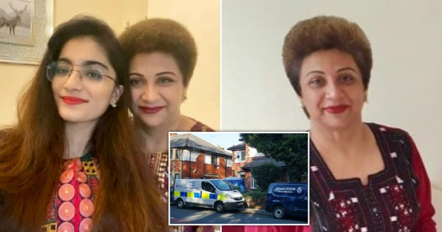 A doctor found dead along with her teenage daughter died from pressure to her neck, a post-mortem examination has revealed.