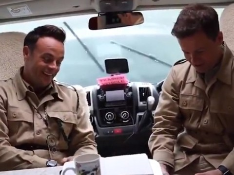 Ant and Dec's minds being blown over 'pen that has everything' is the purest thing you'll see all day