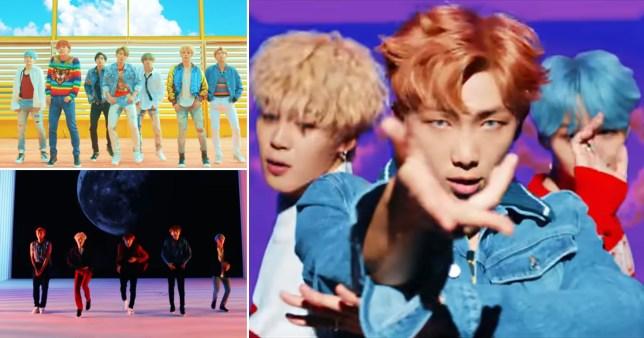 BTS DNA record