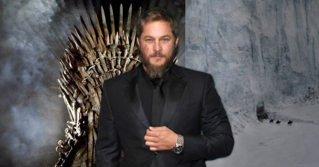 Game of Thrones Travis Fimmel House of the Dragon