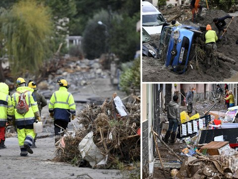 Rescue workers find 12 bodies after devastating flooding in France and Italy