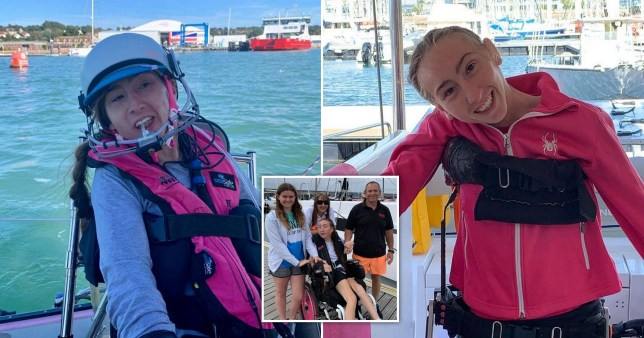 Disabled woman to sail 3,000 miles across Atlantic using mouth to control boat