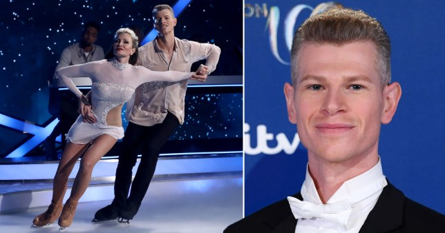 Hamish Gaman dancing on ice