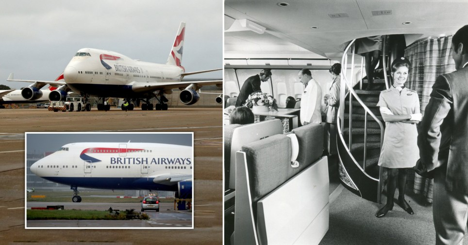 BA is retiring two of its last Queen of the skies