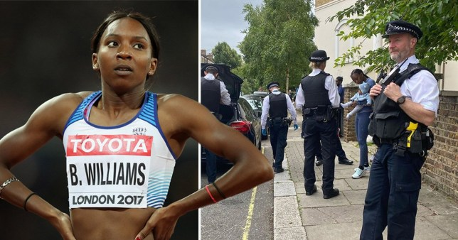 Bianca Williams' car was stopped in July