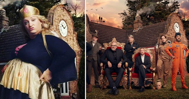 Daisy May Cooper will make a t*t out of herself on Taskmaster  (Picture: Channel 4)