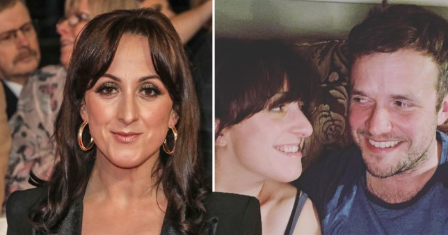 Natalie Cassidy and her partner
