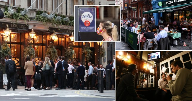 Pubs and restaurants responsible for third of UK coronavirus cases