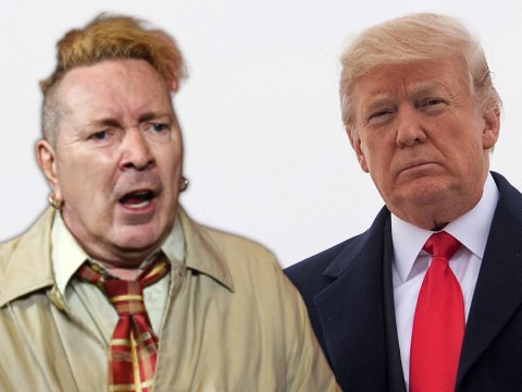 Sex Pistols' John Lydon claims he'd be 'daft as a brush' not to vote for Donald Trump
