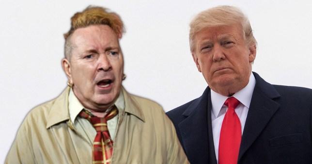 John Lydon and Donald Trump