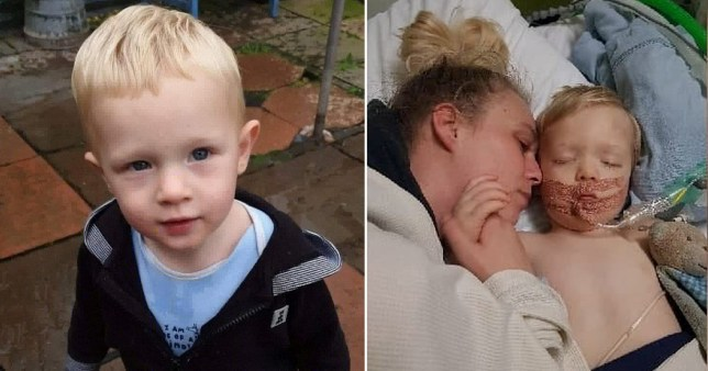 Toddler accidentally hanged in window blind cord while mum put kettle on