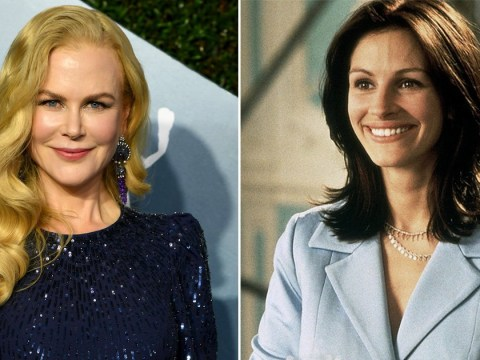 Nicole Kidman wanted Julia Roberts' role in Notting Hill but 'wasn't talented enough'