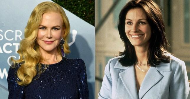 Julia Roberts Nicole Kidman Notting Hill