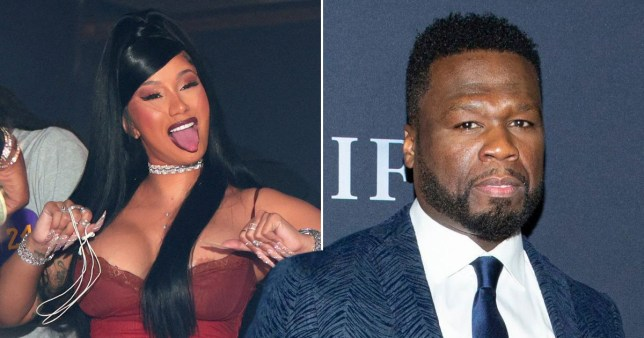 50 Cent supports Cardi B after her accidental nude photo leak