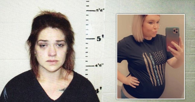 Pictured: 'Womb raider' accused of murdering friend and stealing her baby
