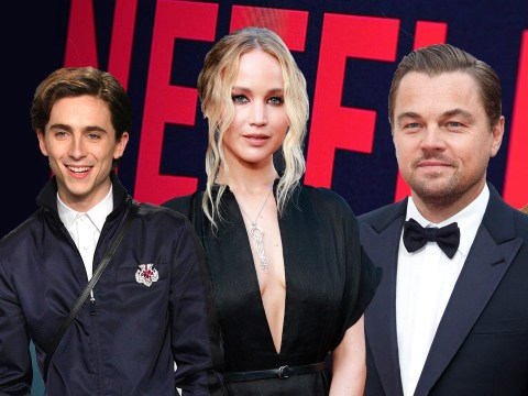 Leonardo DiCaprio, Ariana Grande and Timothee Chalamet among A-listers joining Jennifer Lawrence in Netflix's Don't Look Up