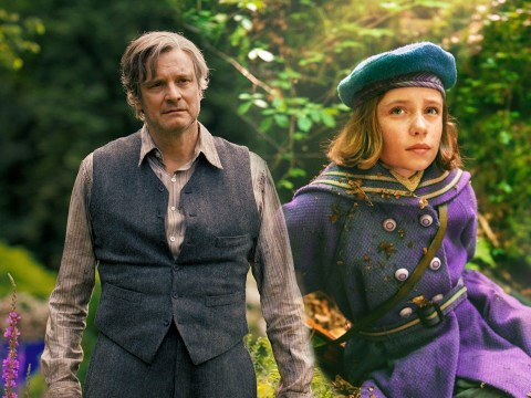 The Secret Garden: Colin Firth's Mr Craven meets Mary Lennox for the first time in exclusive first look