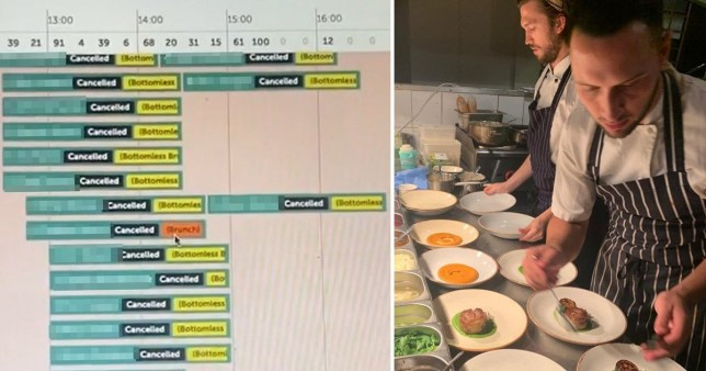Restaurant owner loses £25,000 when 540 bookings cancel on day tier 2 announced