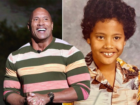 Dwayne Johnson shares hilarious throwback photo of him at seven years old: 'Just drippin' cool'