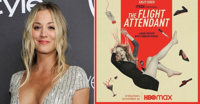 Big Bang Theory's Kaley Cuoco is prepared for fans to hate The Flight Attendant