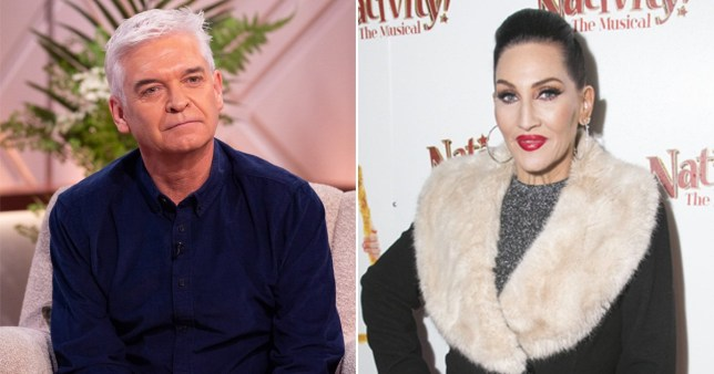 Phillip Schofield and Michelle Visage