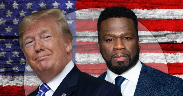 50 Cent insists he doesn't actually like Donald Trump