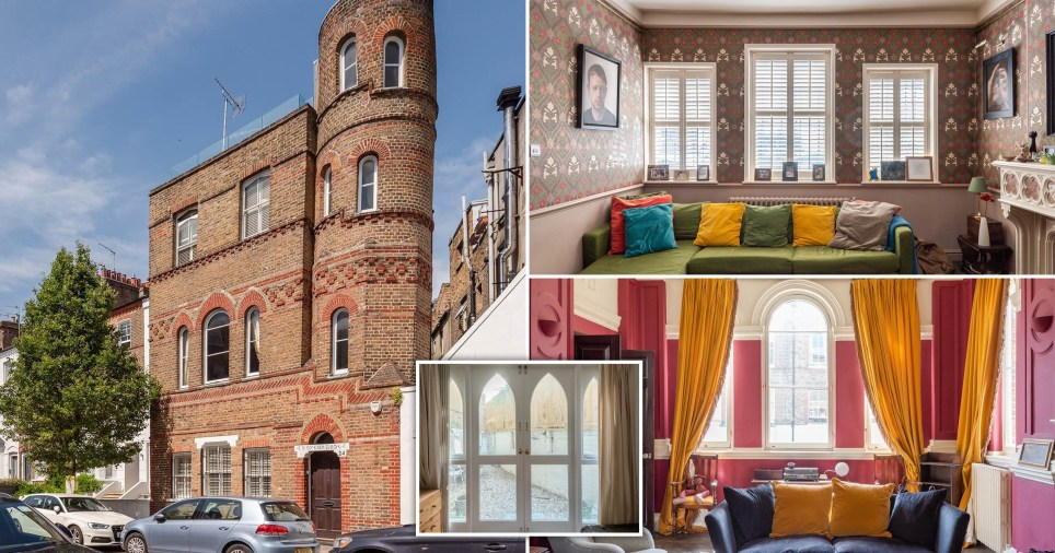 tower in west london up for sale