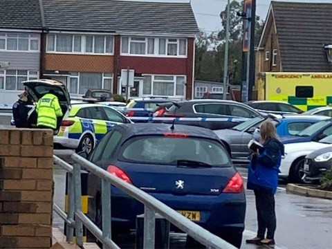 Baby taken to hospital 'after car clipped pushchair in Aldi car park'